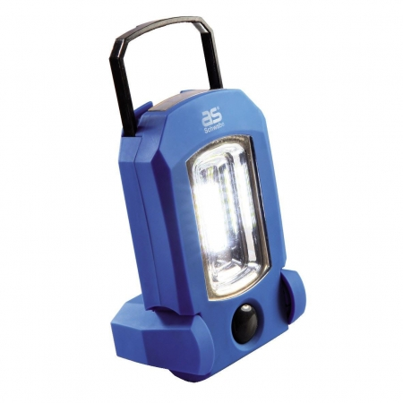 Akku-Handlampe COB + LED + 4 LED EVO 1, AS Schwabe