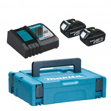 Makita Power-Kit:  2 Akkus 18V 3Ah...