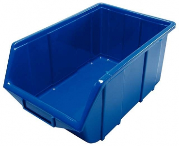Stapelbox blau Gr 4 355x220x167mm