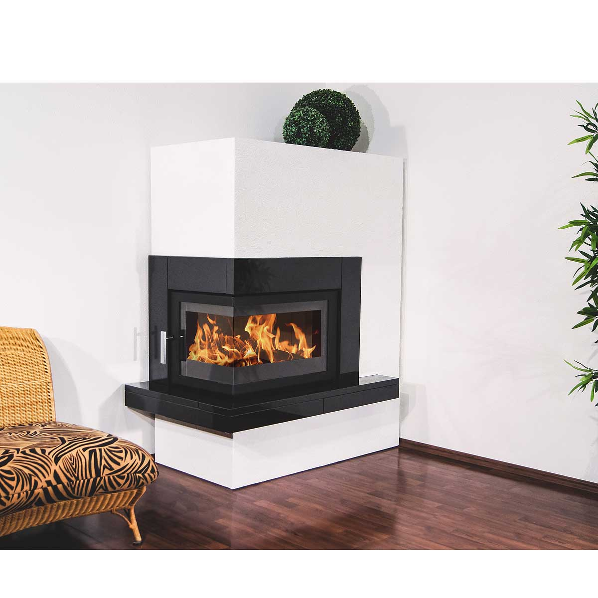 kaminofen pateo links granit schwarz 559131 freytool. Black Bedroom Furniture Sets. Home Design Ideas
