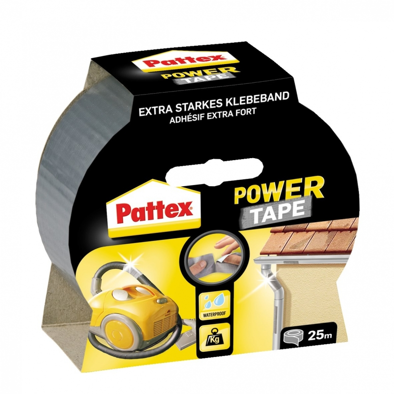 Pattex Power Tape silber, 50mm 25 Meter