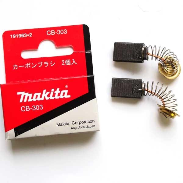 CB-303 Kohlebürsten Kohlen für Makita Bandschleifer 9903 5x11mm