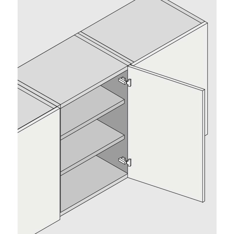 freytool werkzeug shop mittelband topfscharnier blum clip topfband 9 5mm gekr 71m2650. Black Bedroom Furniture Sets. Home Design Ideas