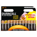 Duracell Batterie Mignon AA 12-er Plus Power