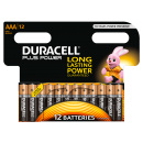Duracell Batterie AAA 12-er Plus Power