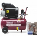Kompressor Elmag Euroair 220/8/24W + Set