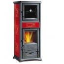 Kaminofen Rosella Plus Forno EVO m. Backrohr 9kW